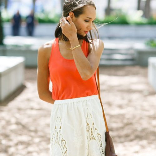 A Crochet Skirt Says Summer