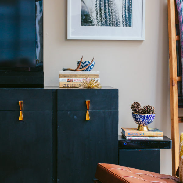 megmade chicago, mid-century modern, how to style a dresser — via @TheFoxandShe