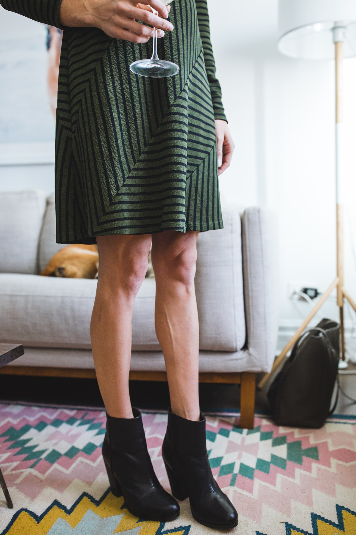 @anthropologie holiday dress