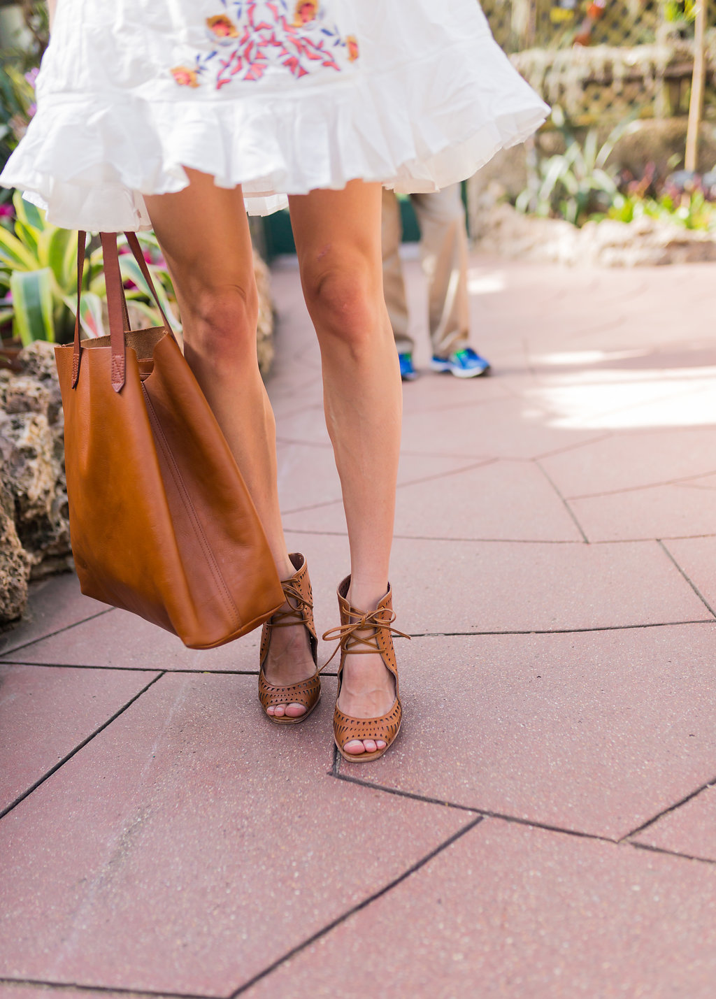 transport tote and rodillo wedges