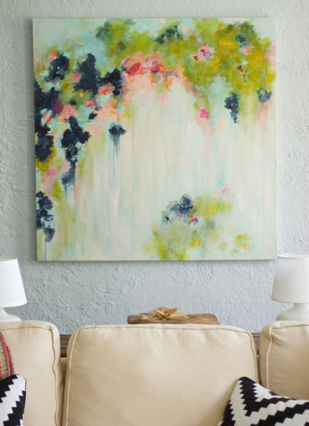 Canvas Painting Ideas and DIY Abstract Art | The Fox & She