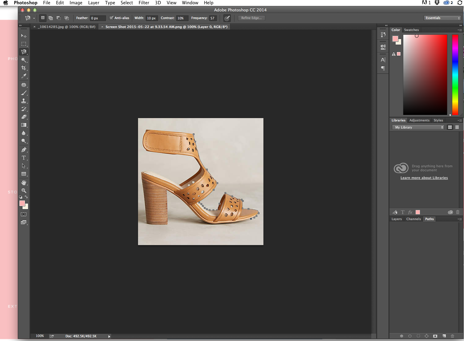 How to Create a Collage in Photoshop @TheFoxandShe