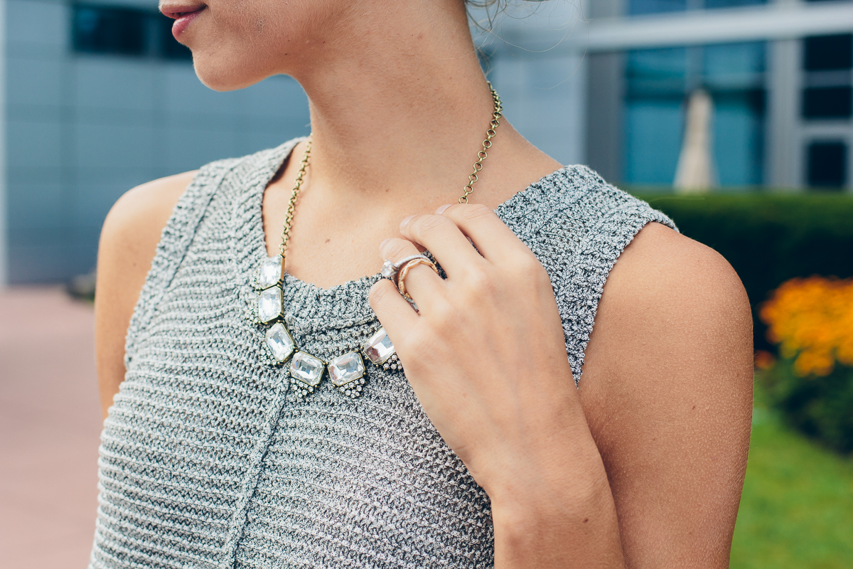 crystal collar necklace — via @TheFoxandShe