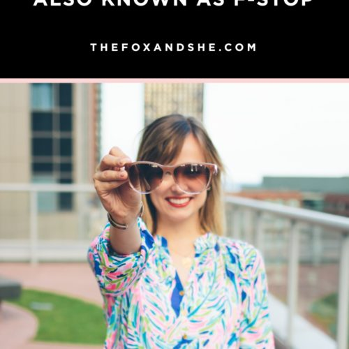 Aperture Tutorial or F-Stop Tutorial for Bloggers — @TheFoxandShe
