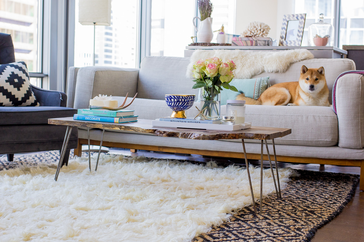How to Layer Rugs Like a Pro — via @TheFoxandShe