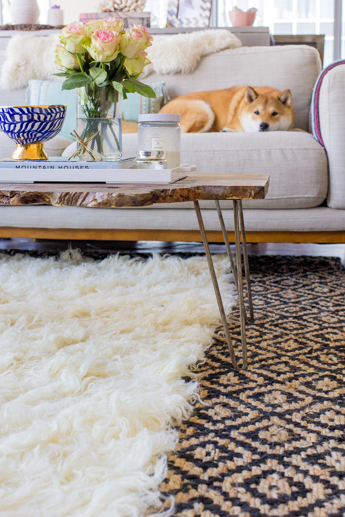 How To Layer Rugs Like A Pro The Fox Amp She
