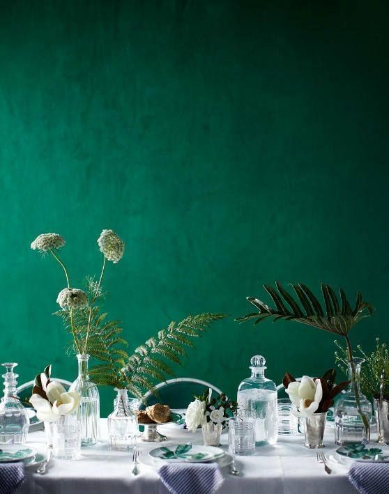 Color Crush Emerald Green U Via With Green Wall Paint