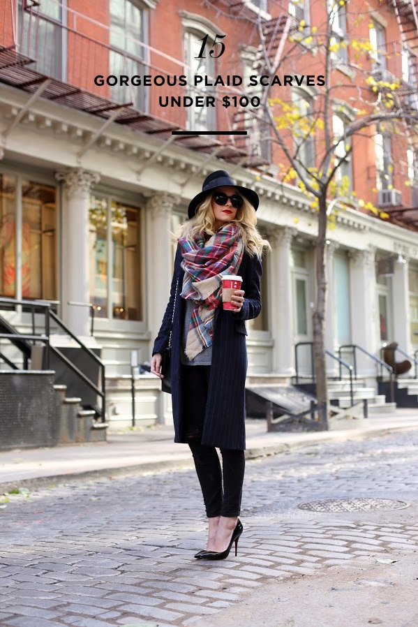 The 15 Best Plaid Scarves Under $100 — via @TheFoxandShe