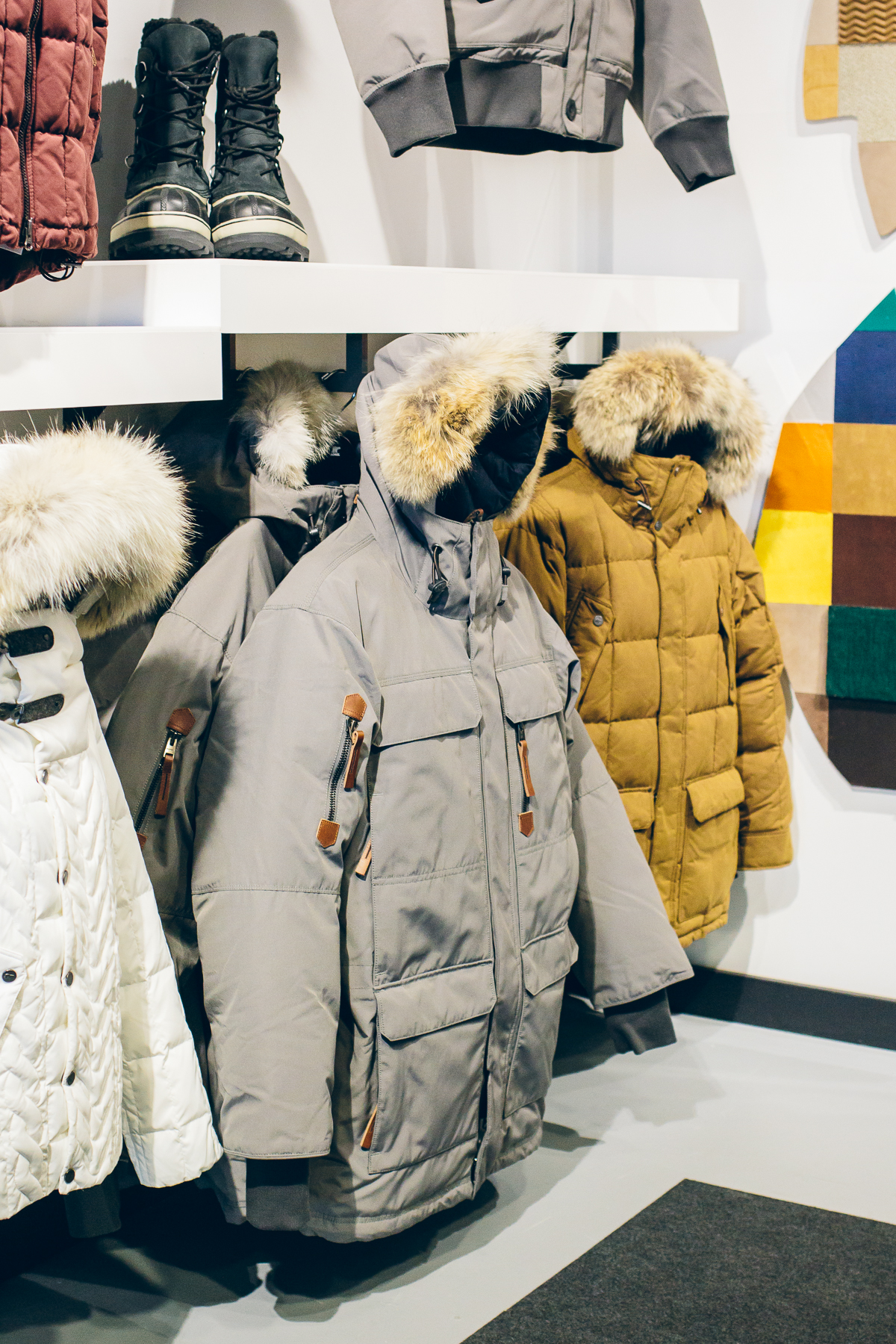 Sorel Winter Boots, Sorel store at Westfield Old Orchard Mall —via @TheFoxandShe