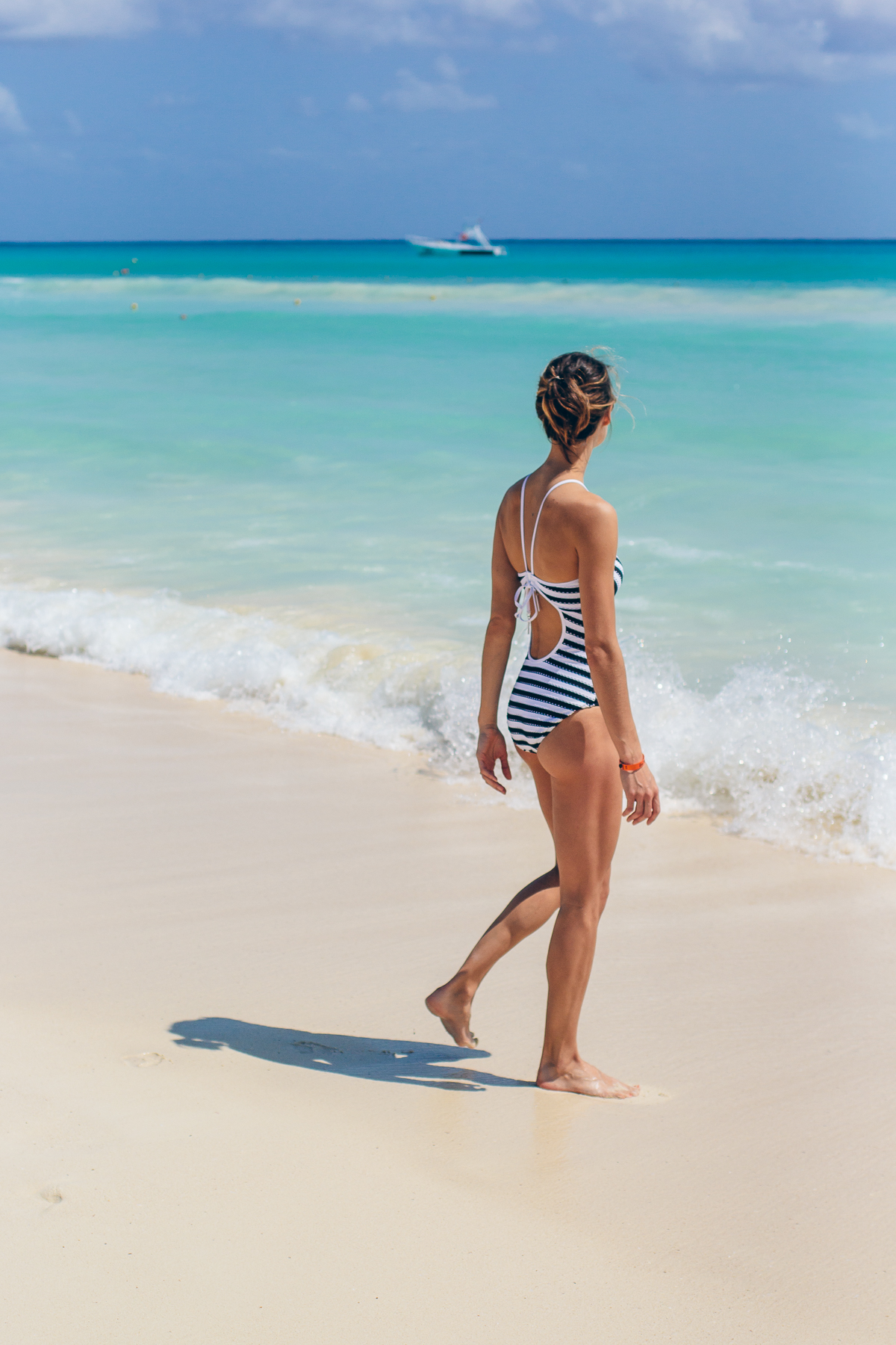 seafolly one piece, coast to coast high neck maillot, conservative swimsuit, high neck one piece — via @TheFoxandShe