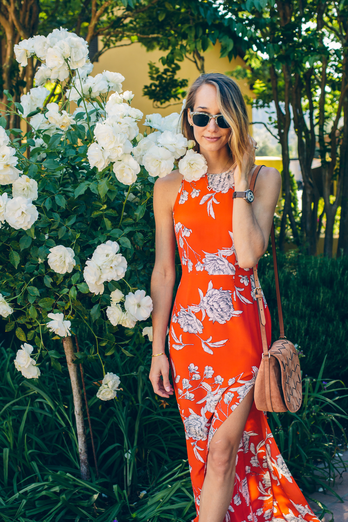 yumi kim maxi dress, spring outfit inspiration — via @TheFoxandShe