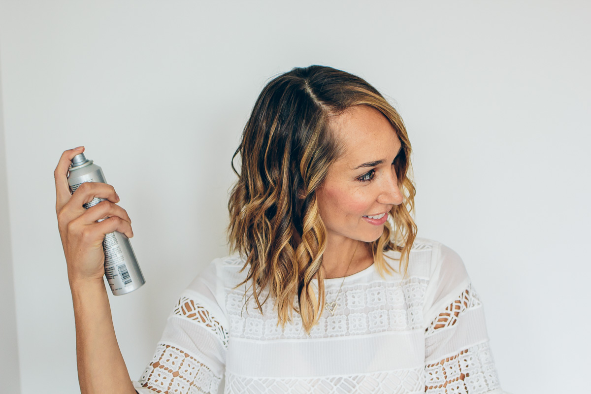 how to make curls with a flat iron