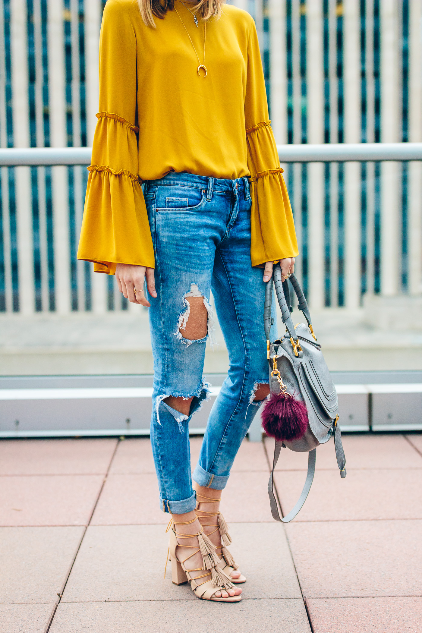 bright casual outfit