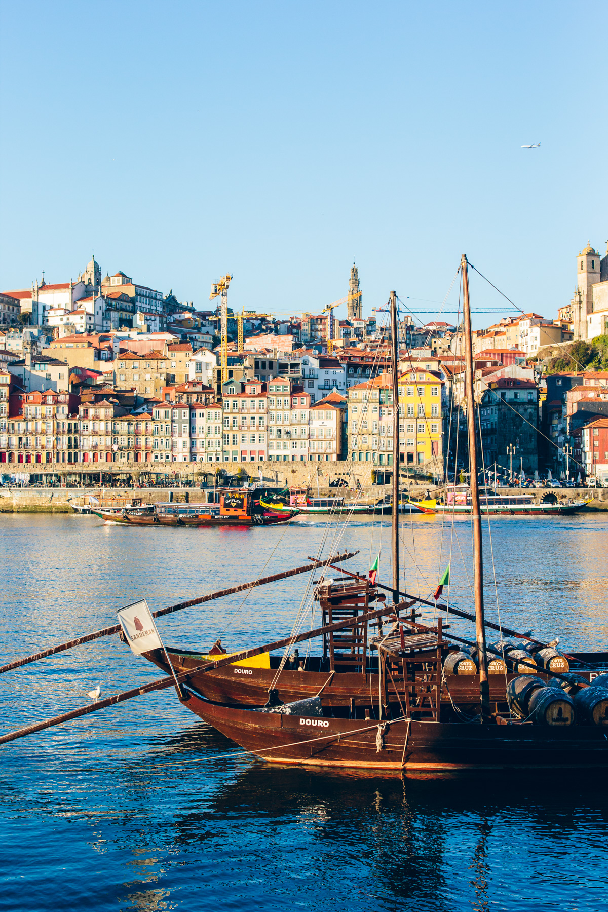 riverside in Porto, Portugal