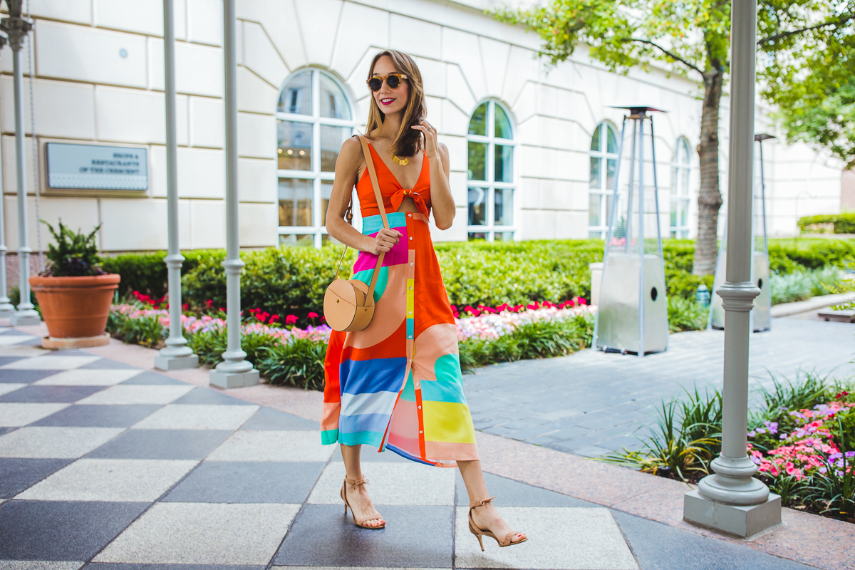 Mara Hoffman colorful summer dress