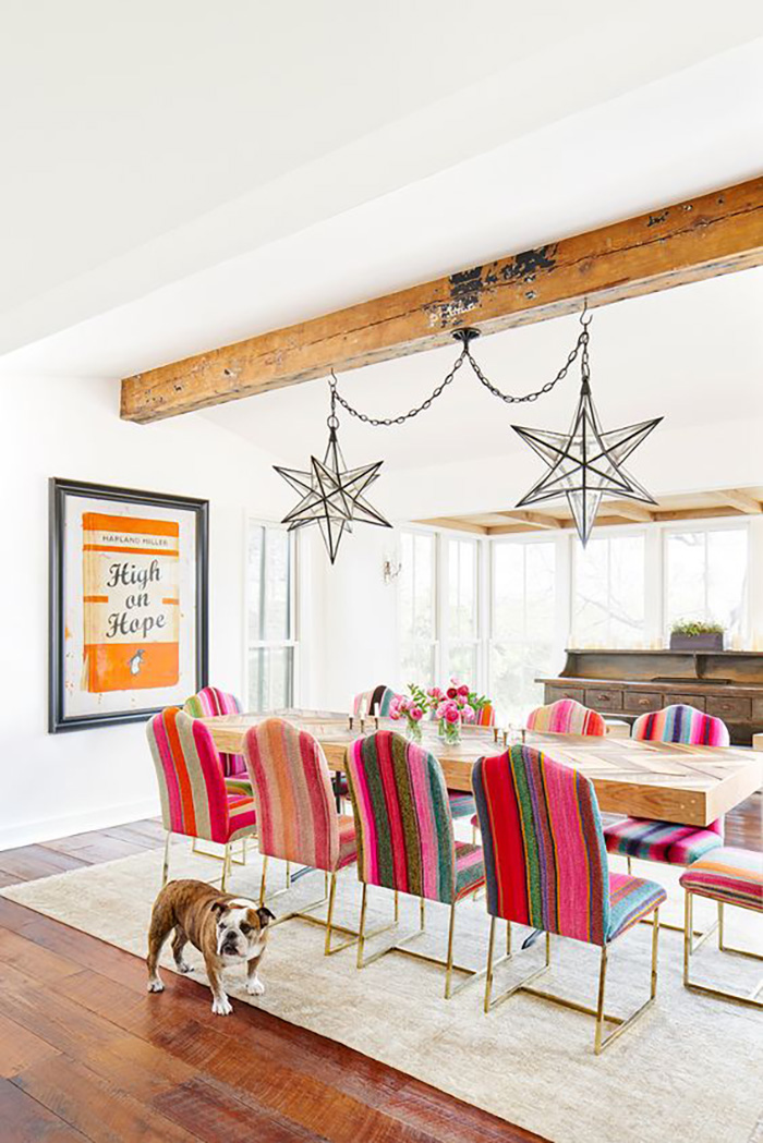15 Eclectic Dining Rooms