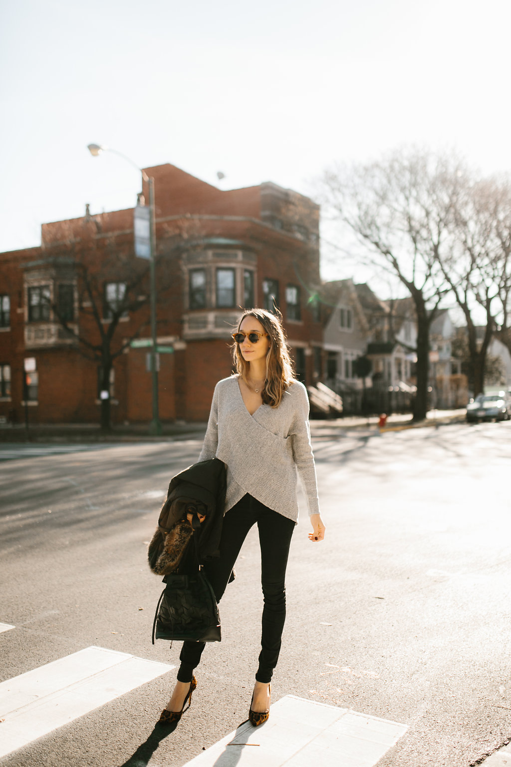 winter street style outfit
