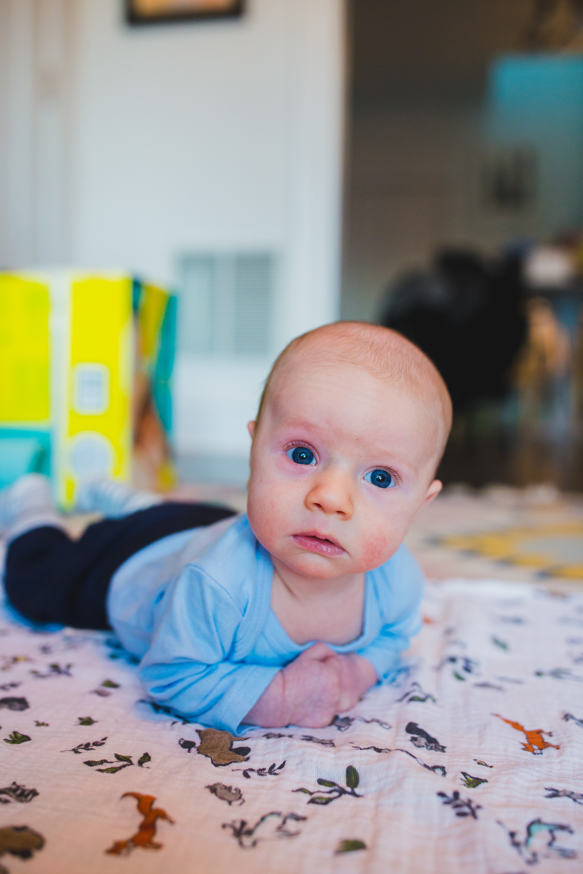 9 week old baby boy on Babywise schedule
