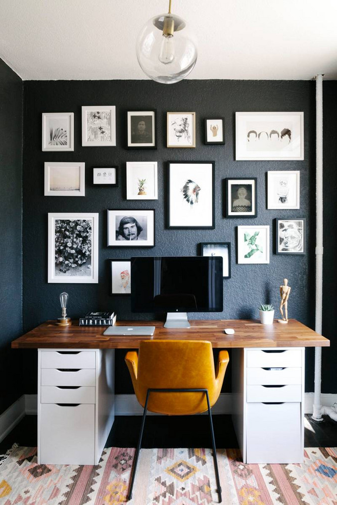 home office inspiration - the fox and she