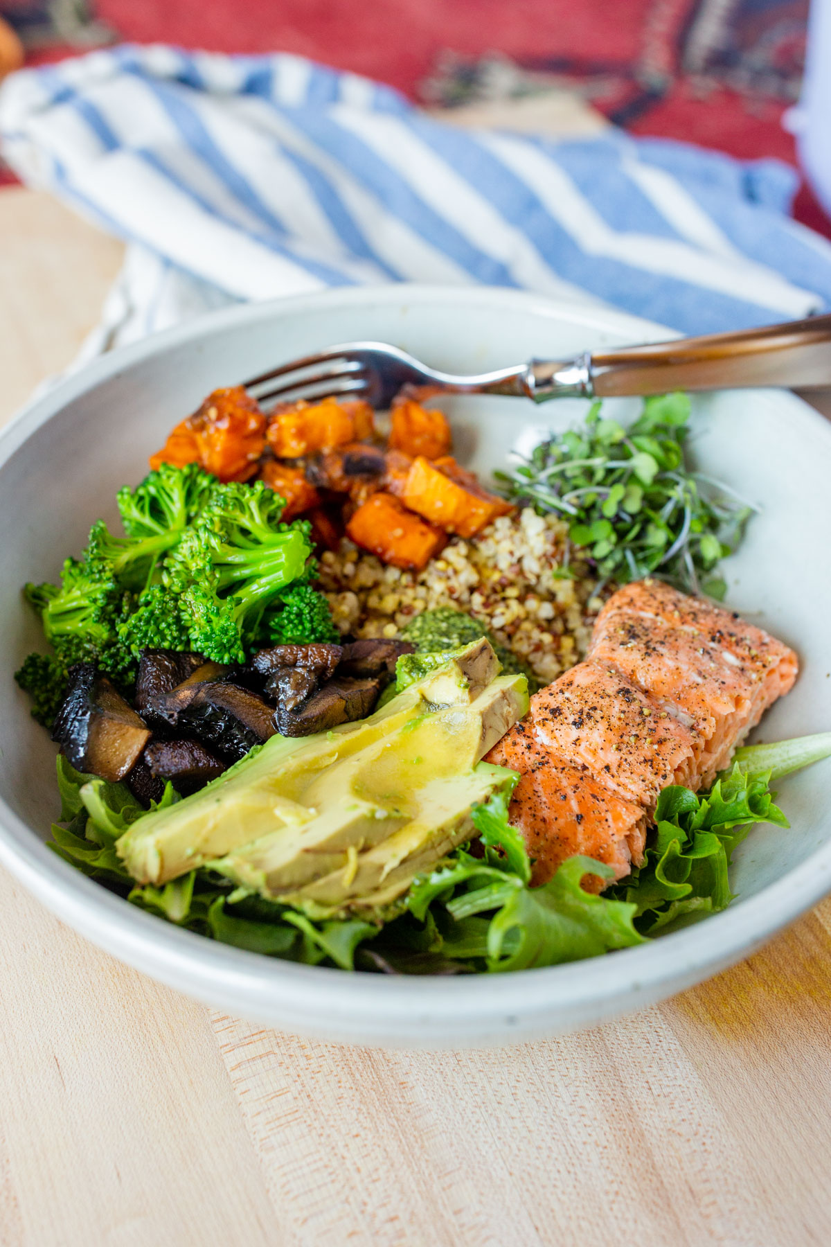 healthy grain bowl ideas