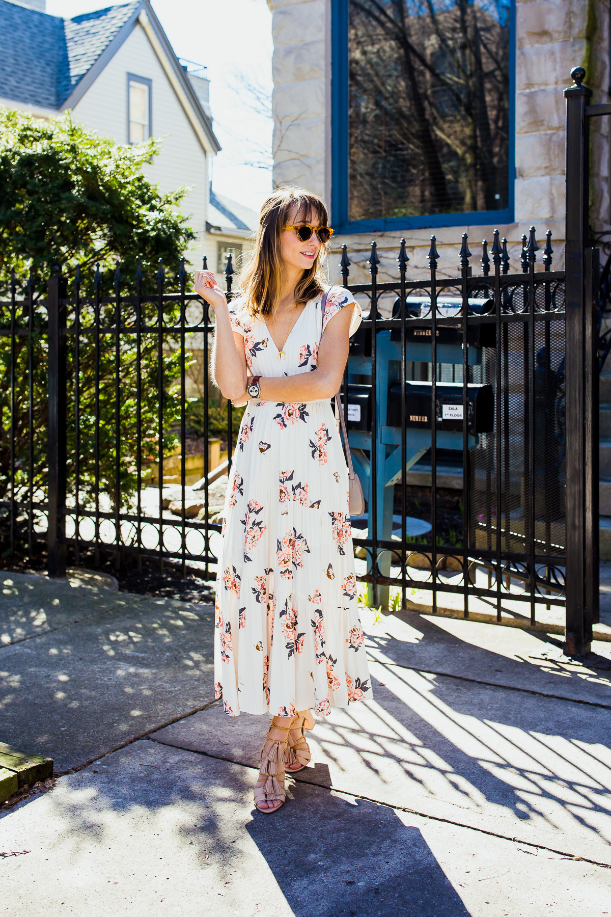 How To Wear A Midi Dress on the blog