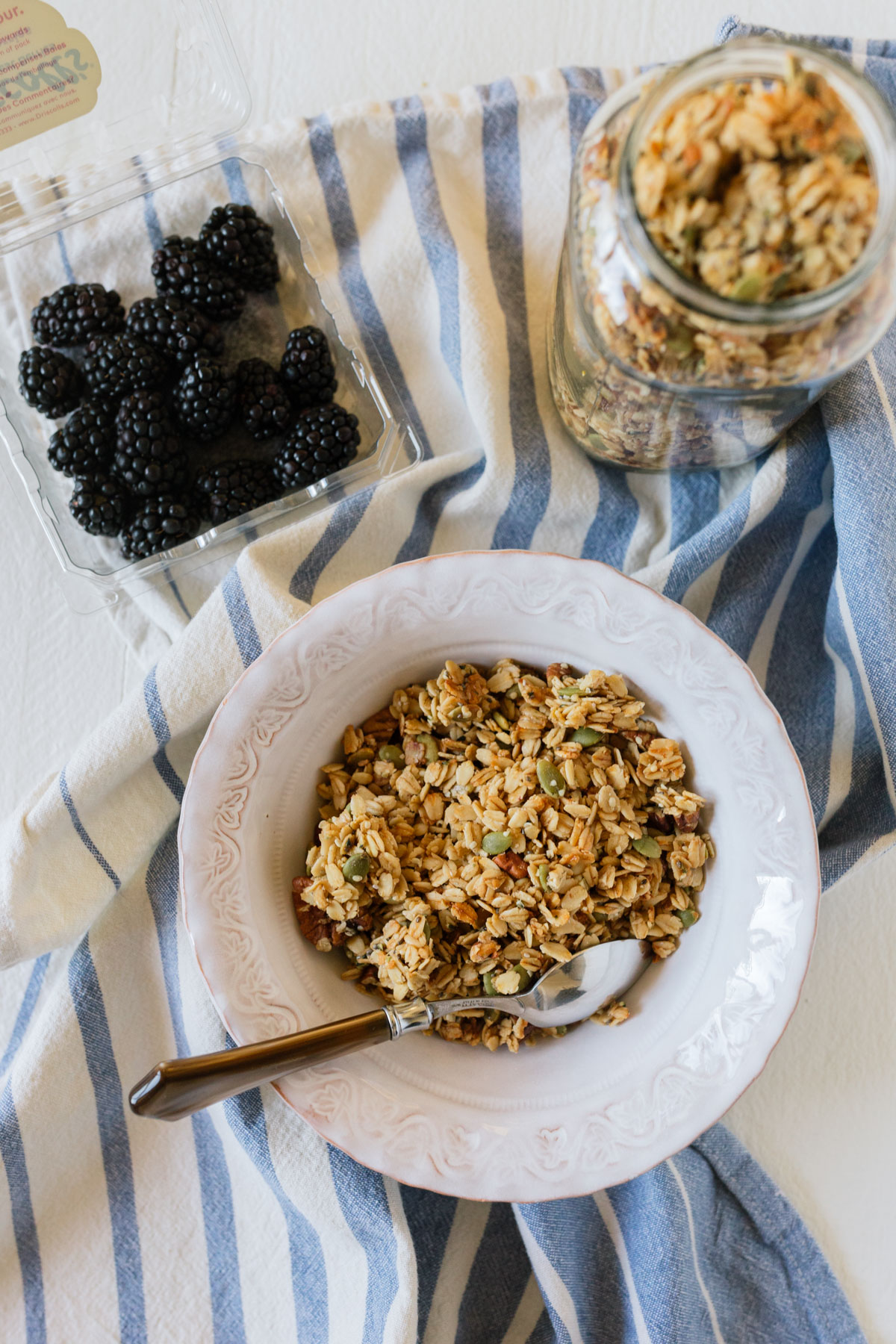 homemade healthy granola recipe