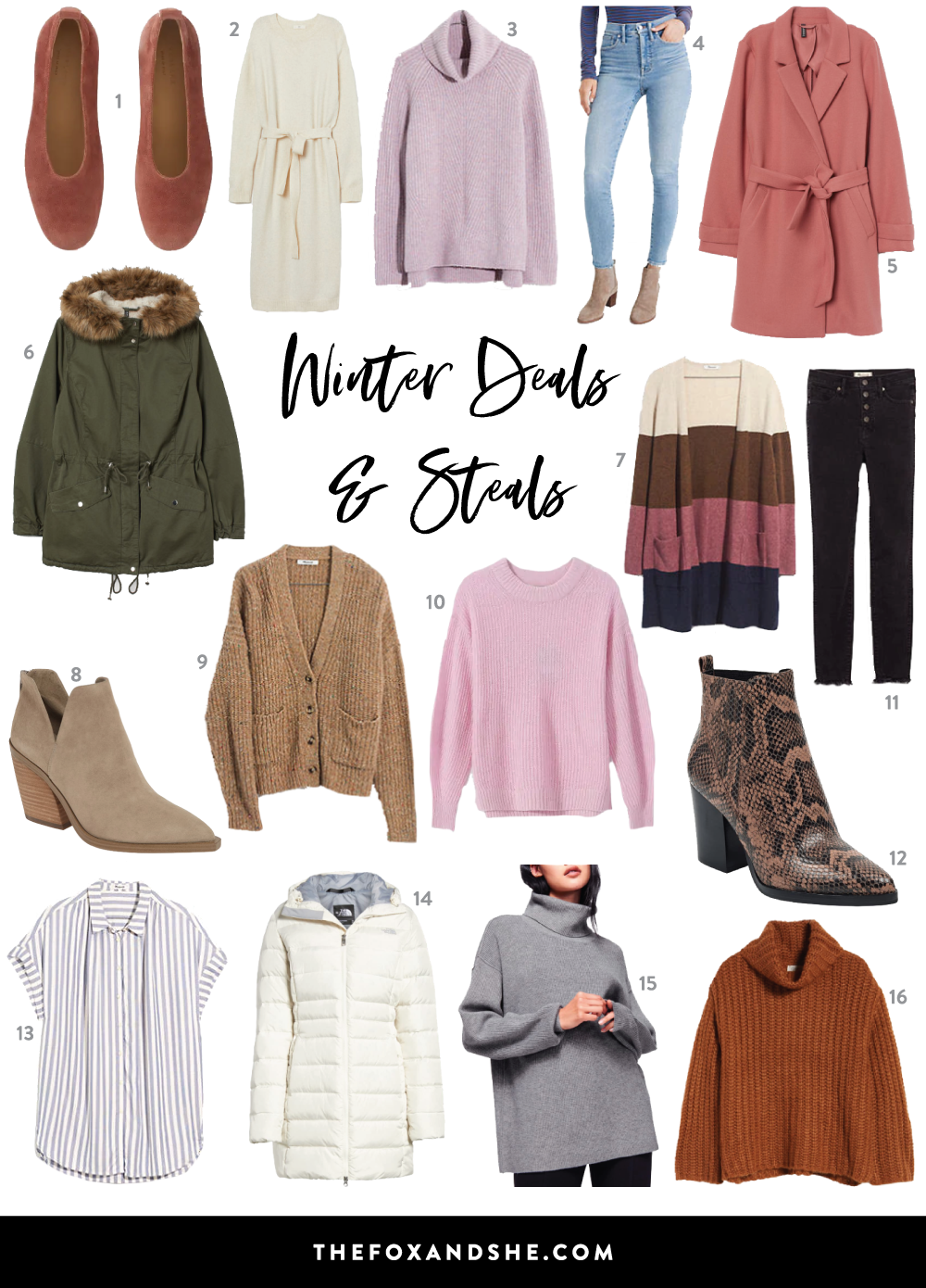 winter steals–affordable and on sale pieces