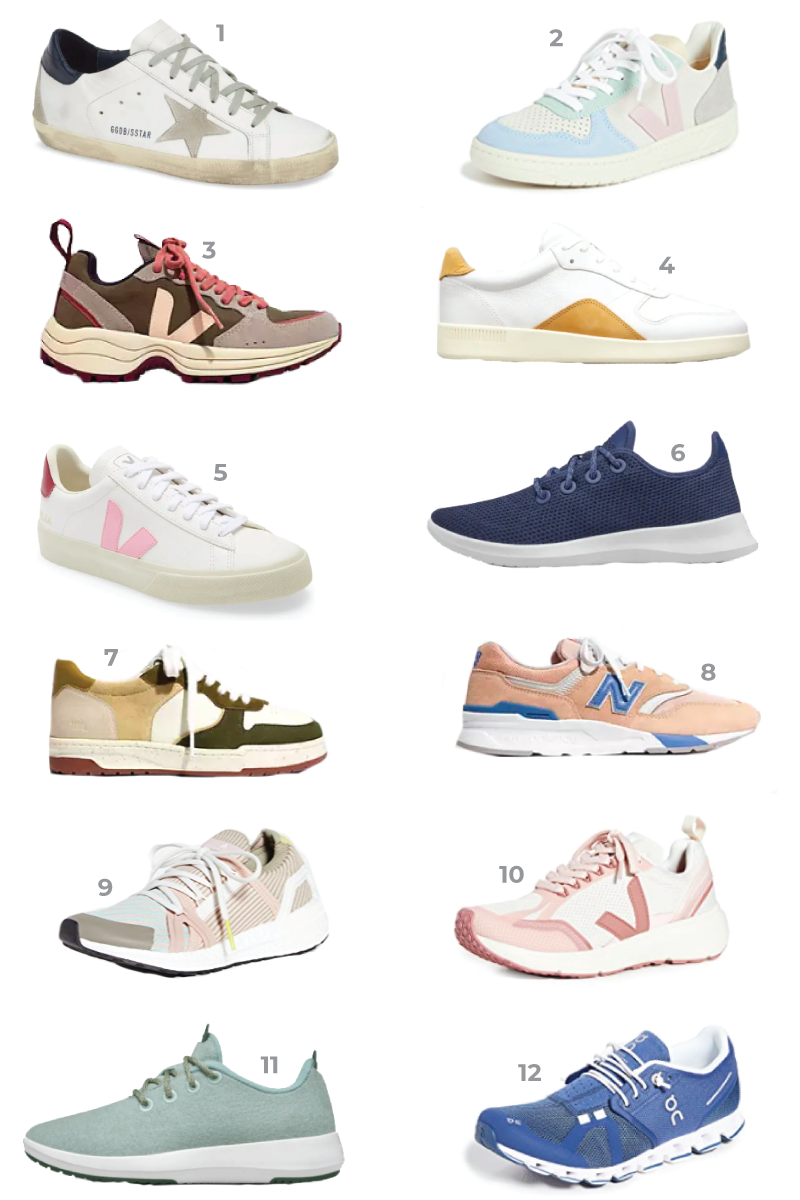 12 stylish sneakers for spring